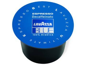 Lavazza 100 capsule Espresso Decaffeinato per Lavazza Blue