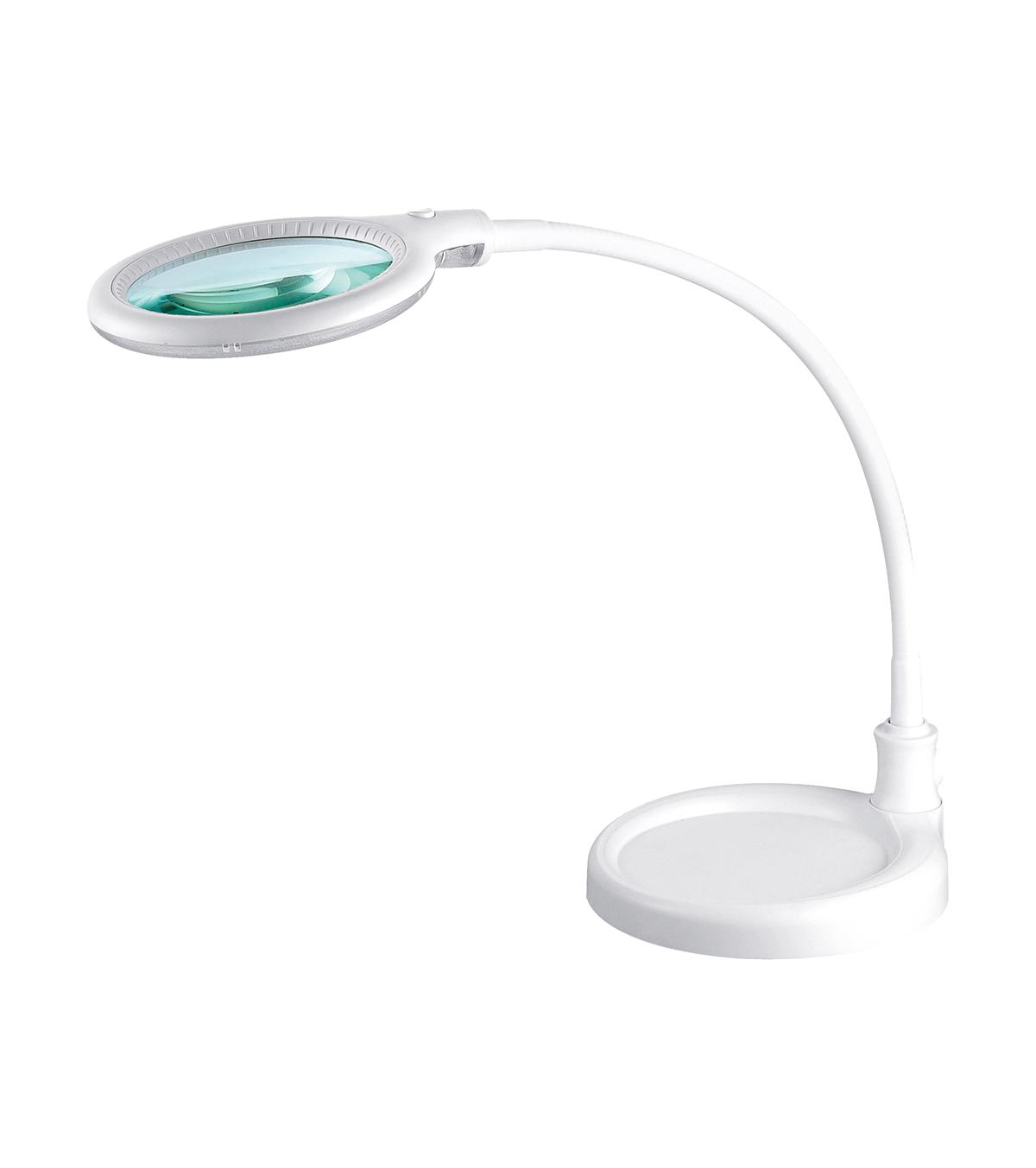 peggy sage lampada da tavolo con lente d'i