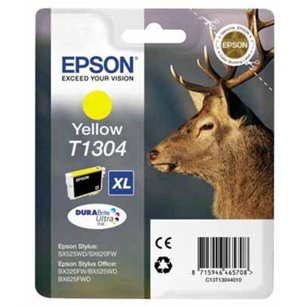 epson originale c13t13044010   giallo