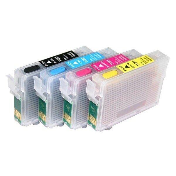 Epson Cartucce vuote ricaricabili con chip separati autoresettanti