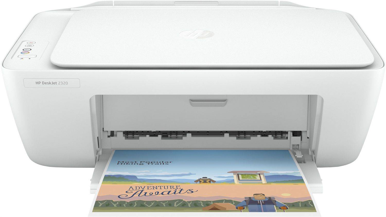 HP Stampante Multifunzione Inkjet Copia Scanner Fax Stampa A4 DeskJet 2320 All in One