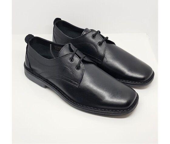 kappad scarpa stringata liscia in morbida pelle sfoderata e fondo cuoio e gomma antisdruciolo