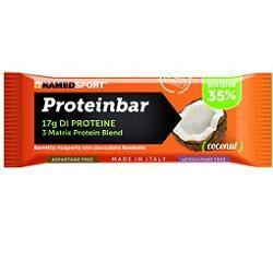 namedsport srl proteinbar coconut barretta 50 g