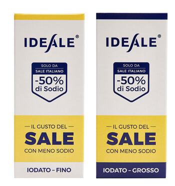SALE IDEALE Srl A SOCIO UNICO Ideale Condimento A Base Di Sale Alimentare Fino 300 G