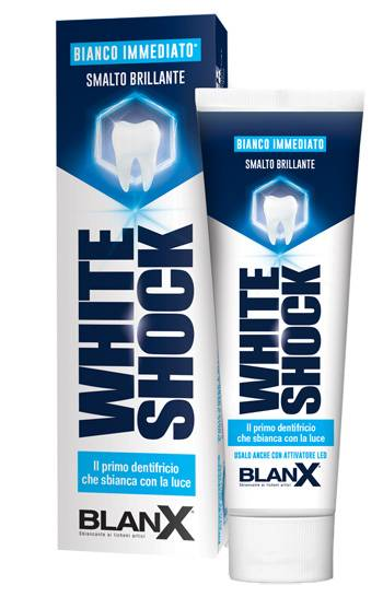 coswell spa blanx sbiancante white shock 75ml