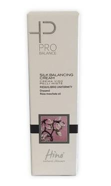 green remedies spa hino natural skincare pro balance silk balancing cream crema viso pelli miste 50 ml