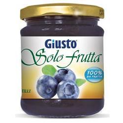 GIULIANI SpA Giusto Solo Frutta Marmellata Mirtilli 284 G