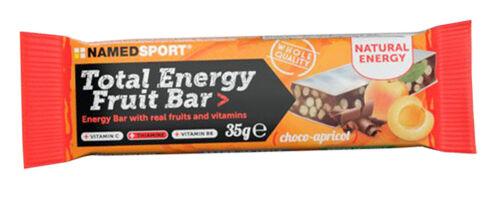 namedsport srl total energy fruit bar choco-apricot 35 g