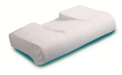 farmacare srl cuscino anatomico per artrosi cervicale prodotto in poliuretano espanso e completo di fodera in cotone 100% munita di cerniera lavabile 1 pezzo