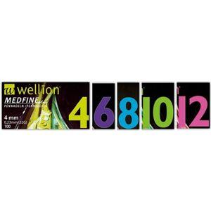 MED TRUST ITALIA Srl Ago Per Penna Da Insulina Wellion Medfine Plus 6 31 Gauge Lunghezza 6 Mm 100 Pezzi