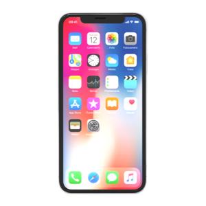 Apple iPhone X 256 GB Argento grade A