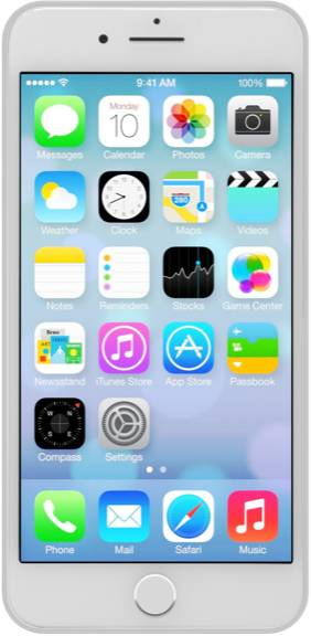 Apple iPhone 7 Plus 128 GB Argento grade A
