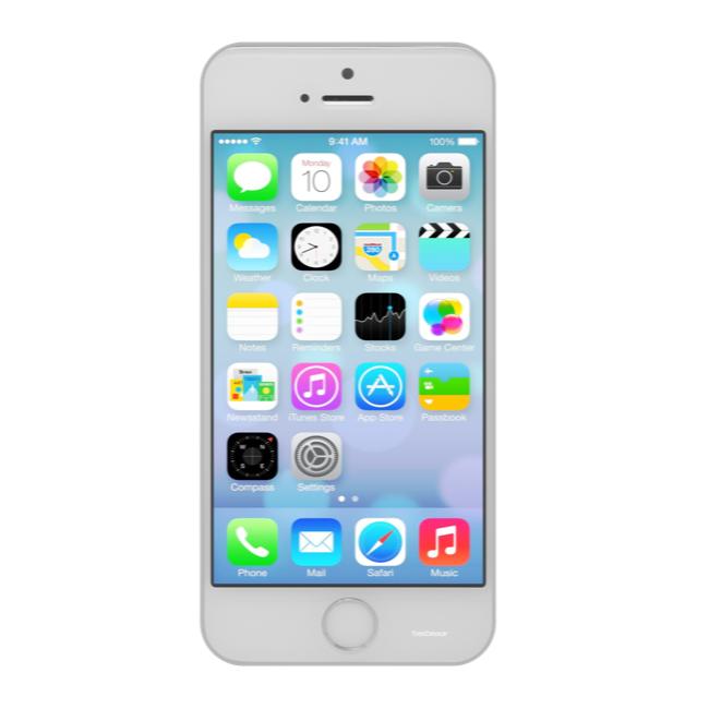 Apple iPhone 5s 16 GB Argento grade A