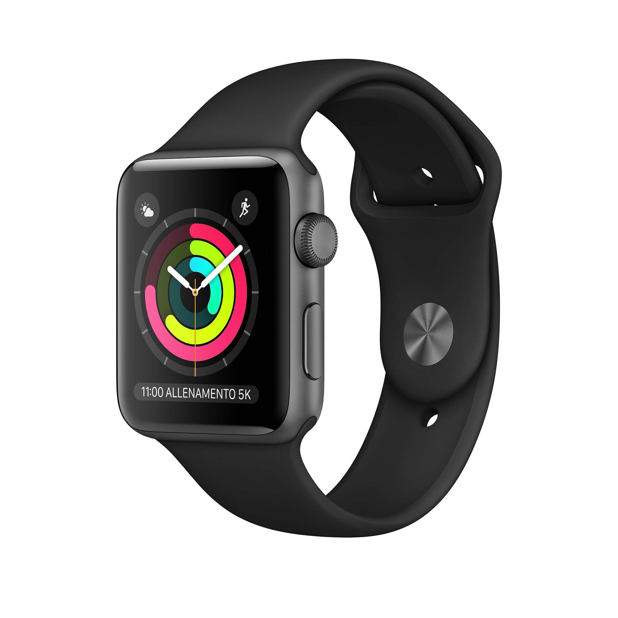 Apple Watch 3° Serie 42 mm Grigio siderale GPS grade A