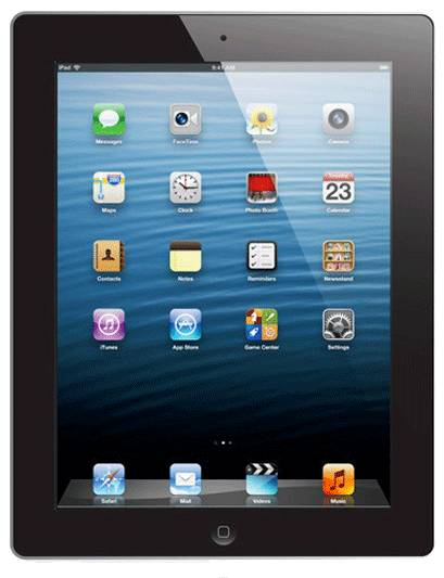 apple ipad 4 64 gb nero wi-fi + cell grade a