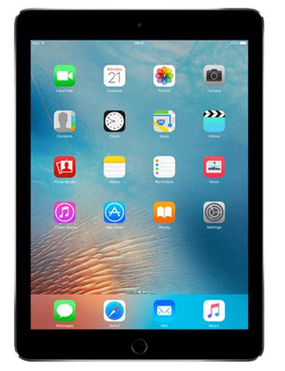 apple ipad pro 12.9 2^gen 256 gb grigio siderale wi-fi grade b