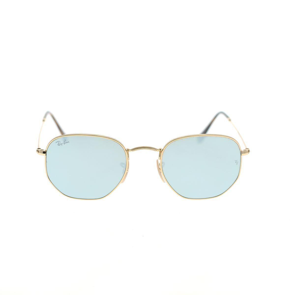 ray-ban occhiali da sole hexagonal rb3548n 001/30