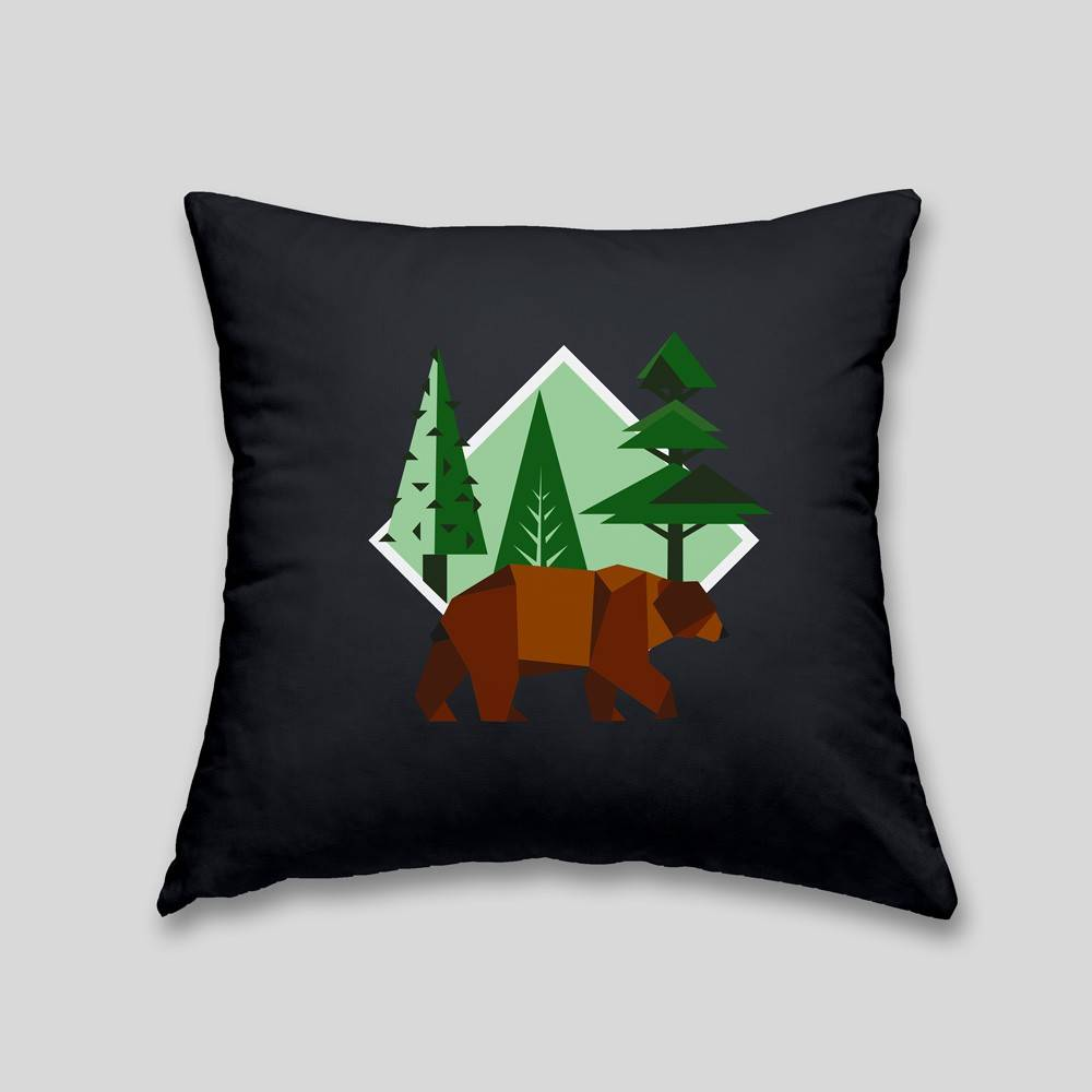 Studio Design Brown Bear Cushion