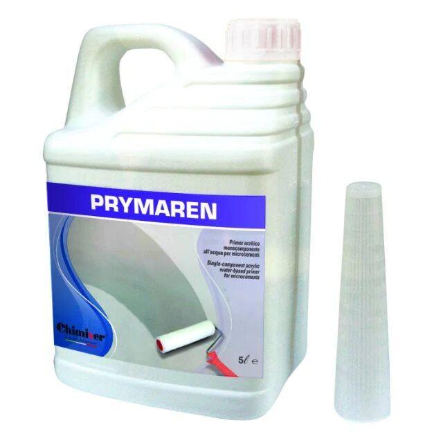 Chimiver Prymaren Primer All'Acqua Monocomponente Per Microcementi Latta Da 5lt