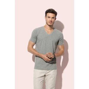 Stedman T-shirt con collo a V scollato da uomo DEAN Bianco - Stedman STE9690 - Taglia M