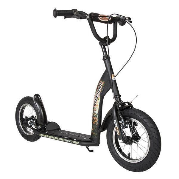 Bikestar Kids Scooter Sport Black da 7 Anni 12 Inches