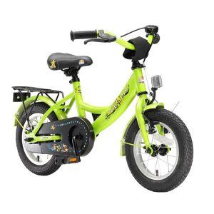 Bikestar Kids Bike Classic Green da 3 Anni 12 Inches