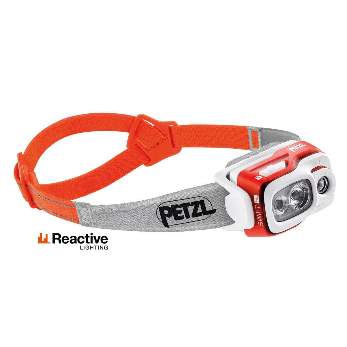 Petzl Swift RL Lampada frontale Orange