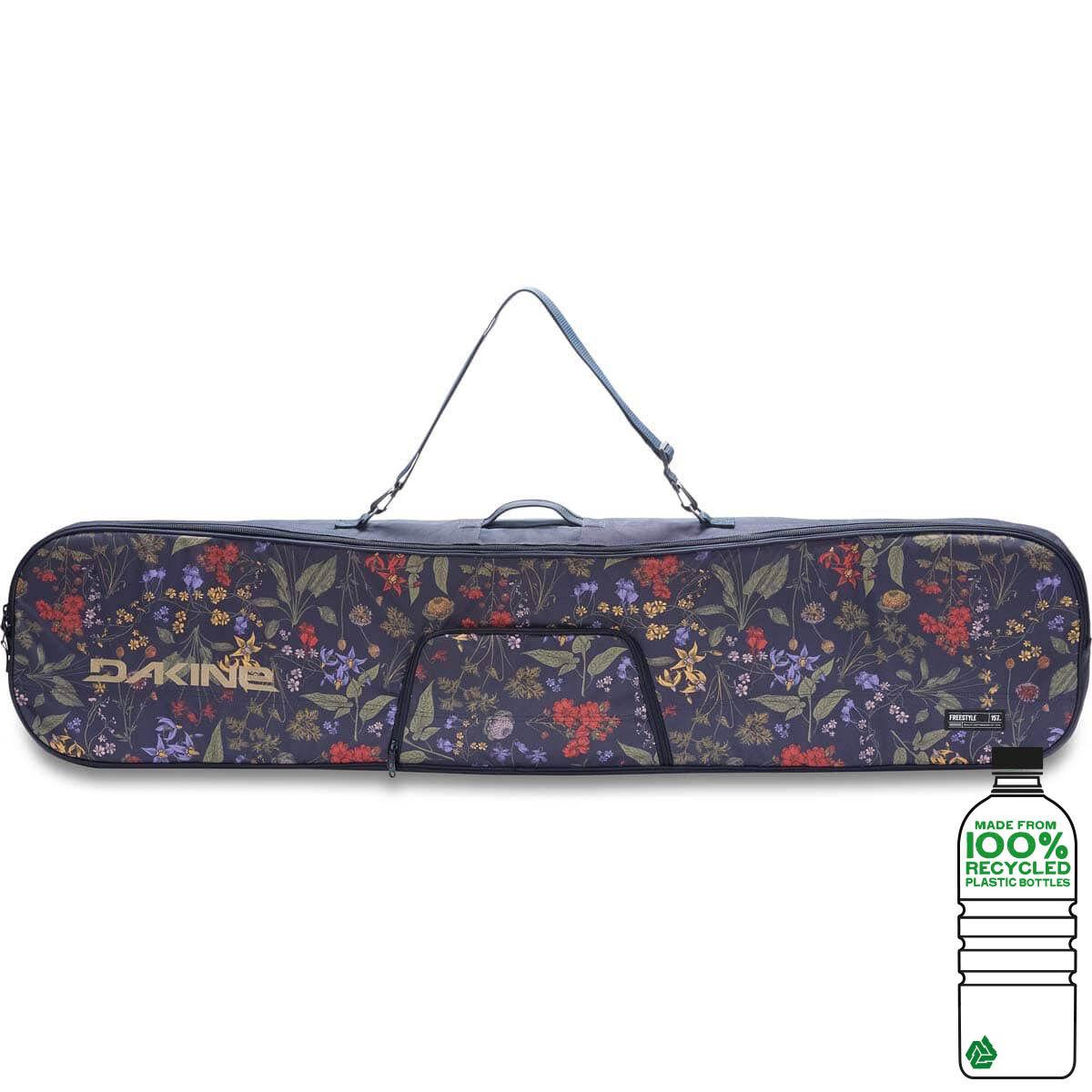 Dakine Freestyle Snowboard Bag 157 cm Snowboard Boardbag Botanics Pet