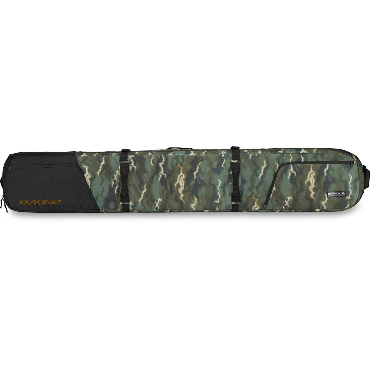 Dakine Boundary Ski Roller Borsa 185 cm Ski Borsa Olive Ashcroft Camo