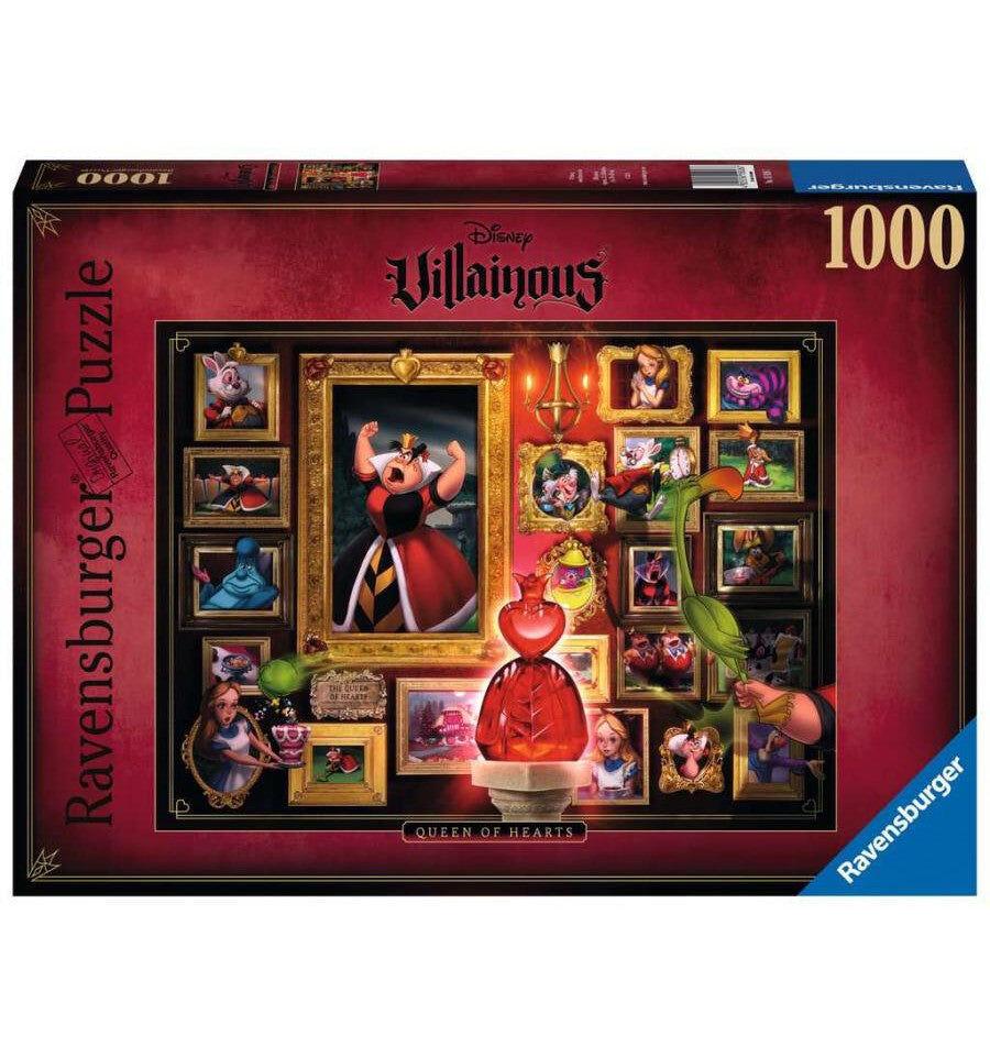 Ravensburger Puzzle 1000 - Villainous Regina di Cuori