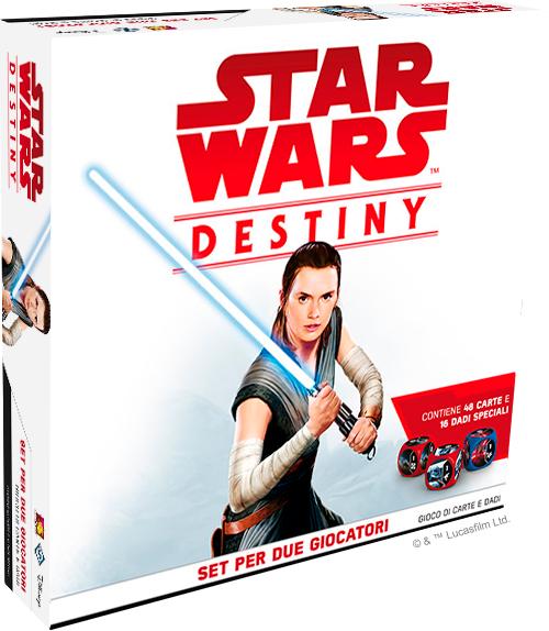 asmodee star wars destiny: set per due giocatori