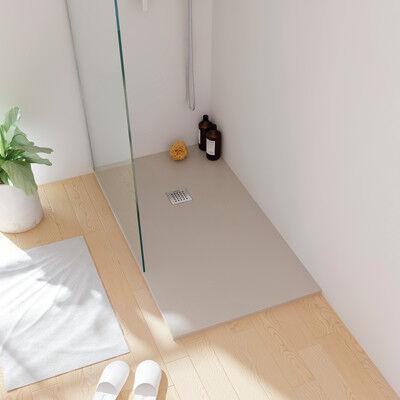 Sanycces Piatto doccia resina sintetica e polvere di marmo Strato 100 x 180 cm sand