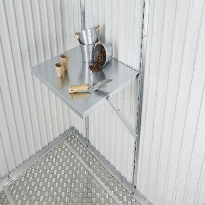 Scaffale in kit in acciaio galvanizzato L 49 H x 2.8 P x 60 cm