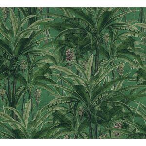 Carta da parati Greenery Forest verde, 53 cm x 10.05 m