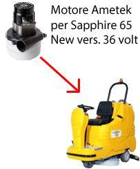 adiatek sapphire 65 36 volt (new) motore ametek aspirazione lavapavimenti