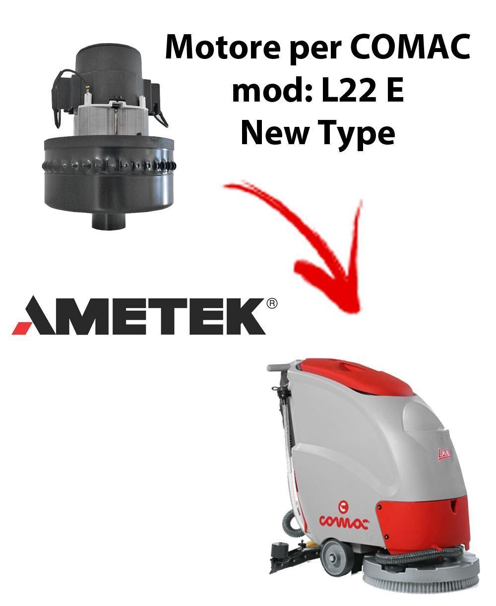 comac l22e new type motore aspirazione ametek per lavapavimenti