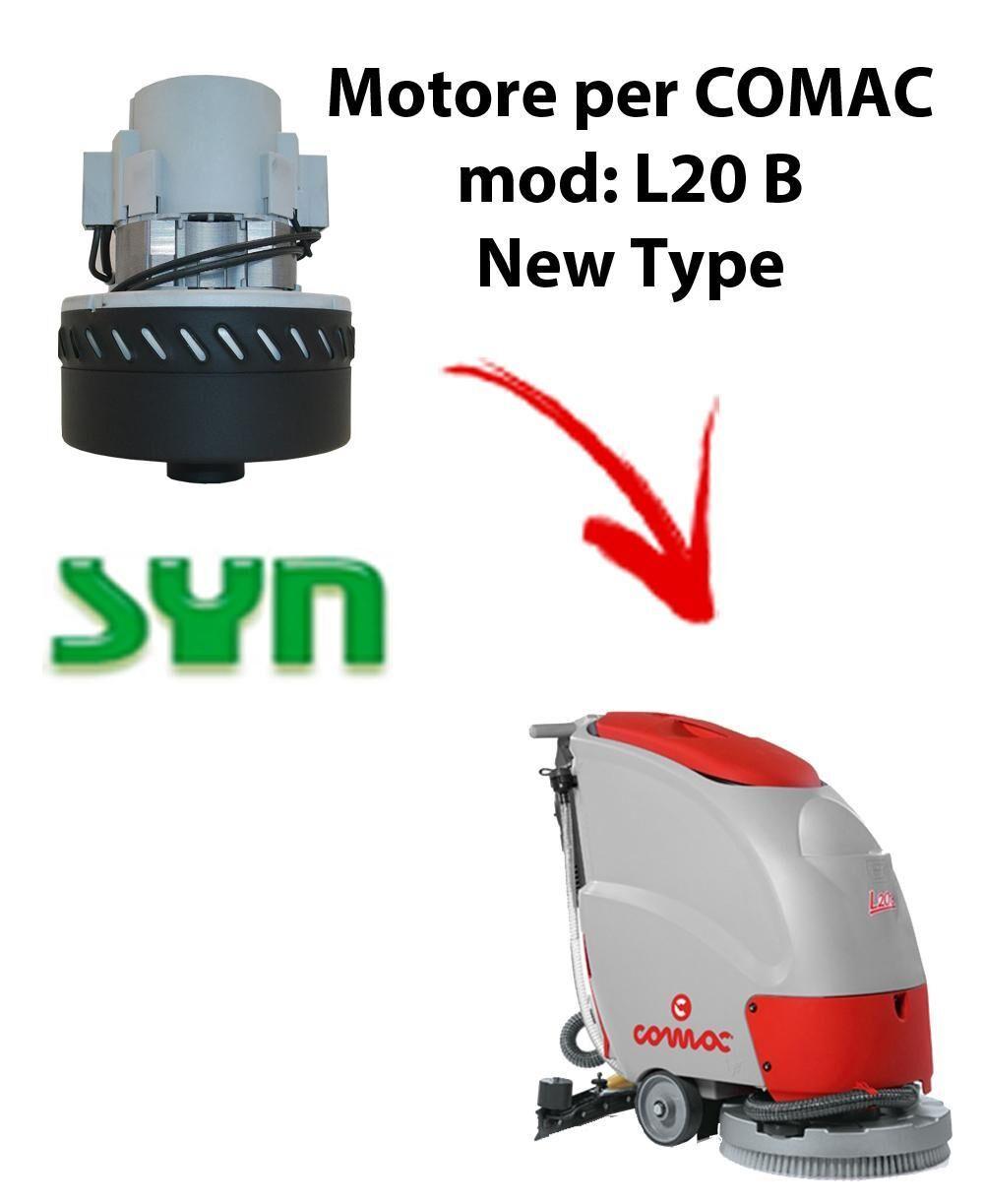 comac l20 b new type motore aspirazione syn per lavapavimenti
