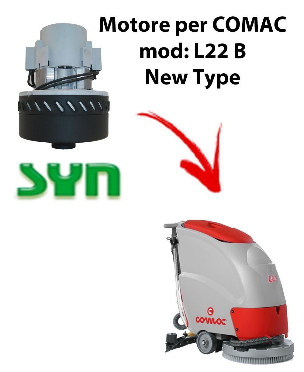 comac l22 b new type motore aspirazione syn per lavapavimenti