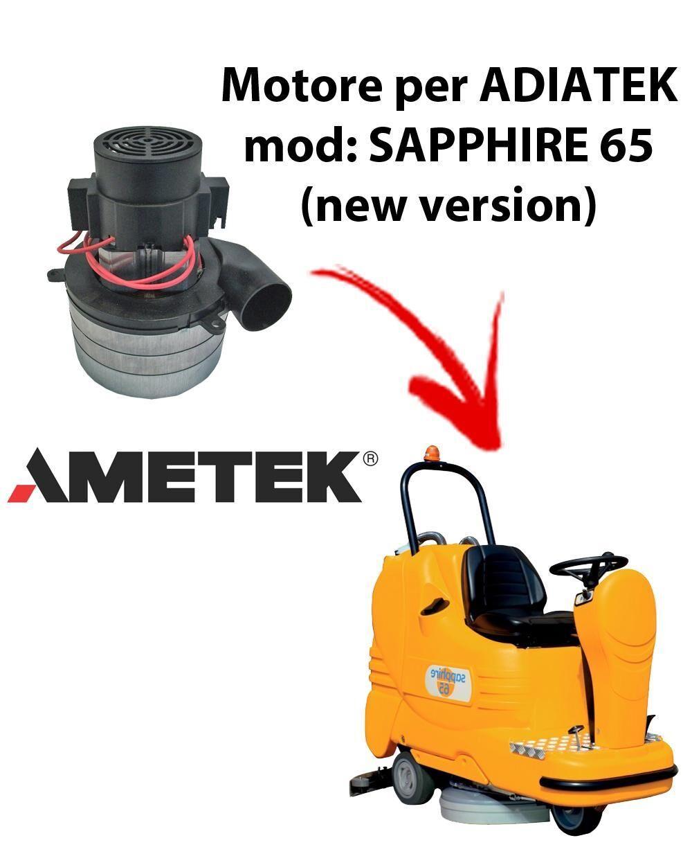 adiatek sapphire 65 (new version) motore aspirazione ametek italia per lavapavimenti