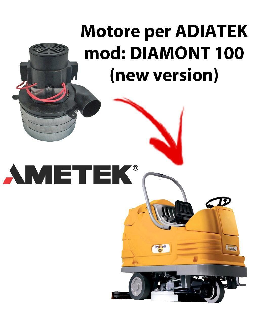 adiatek diamond 100 (new version) motore aspirazione ametek italia per lavapavimenti