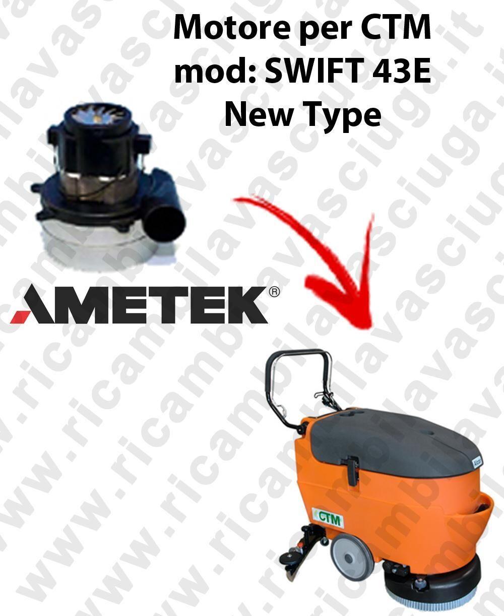 synclean swift 43 e new type motore di aspirazione per lavapavimenti ctm