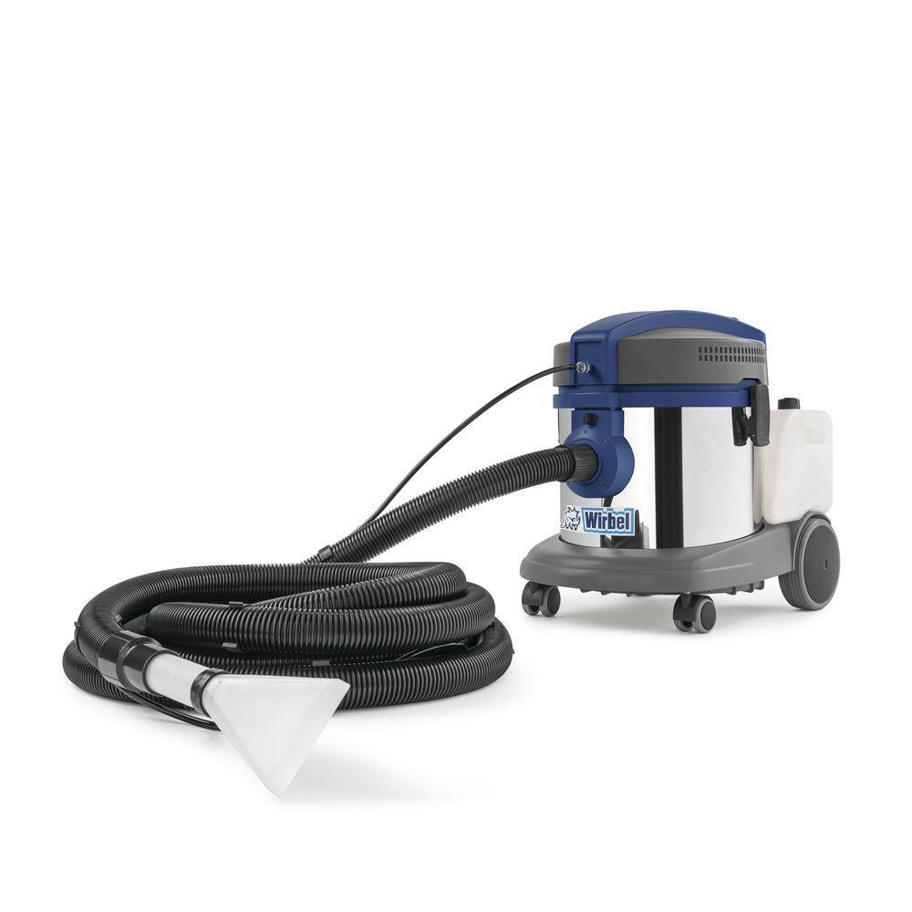 wirbel lavamoquette power extra 7 i auto aspirapolvere e aspiraliquidi professionale