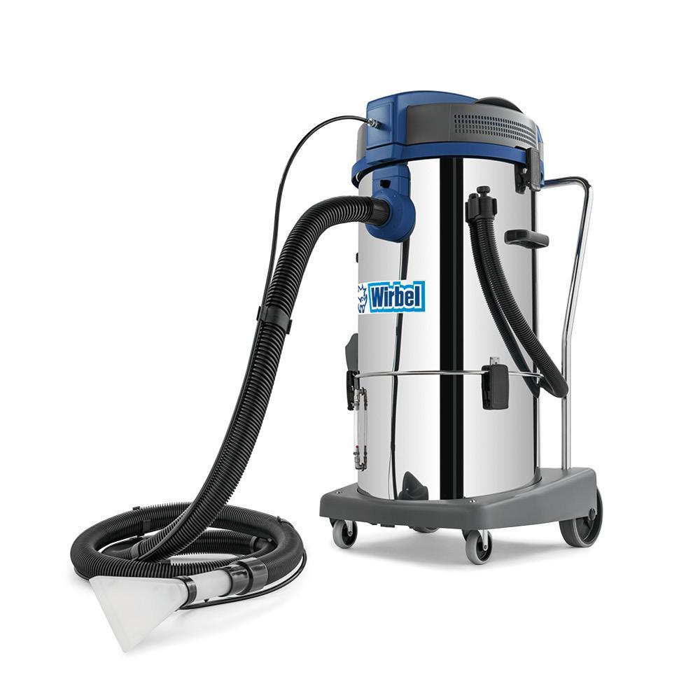 wirbel lavamoquette power extra 31 i ulka aspirapolvere e aspiraliquidi professionale