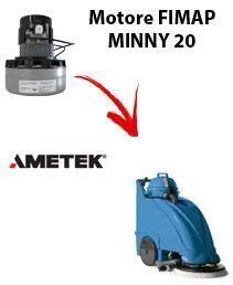 Fimap Motore Ametek di aspirazione per lavapavimenti MINNY 20