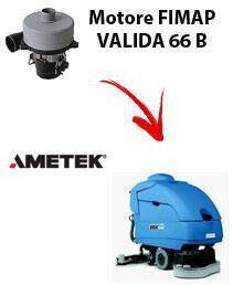 Fimap Motore Ametek di aspirazione per Lavapavimenti VALIDA 66 B