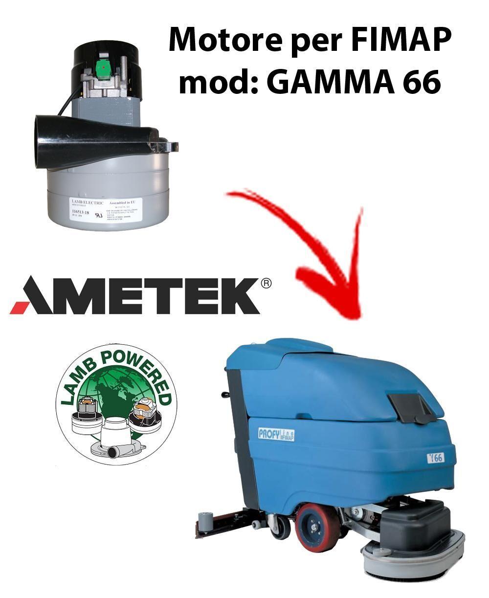 Fimap GAMMA 66 MOTORE aspirazione AMETEK per lavapavimenti