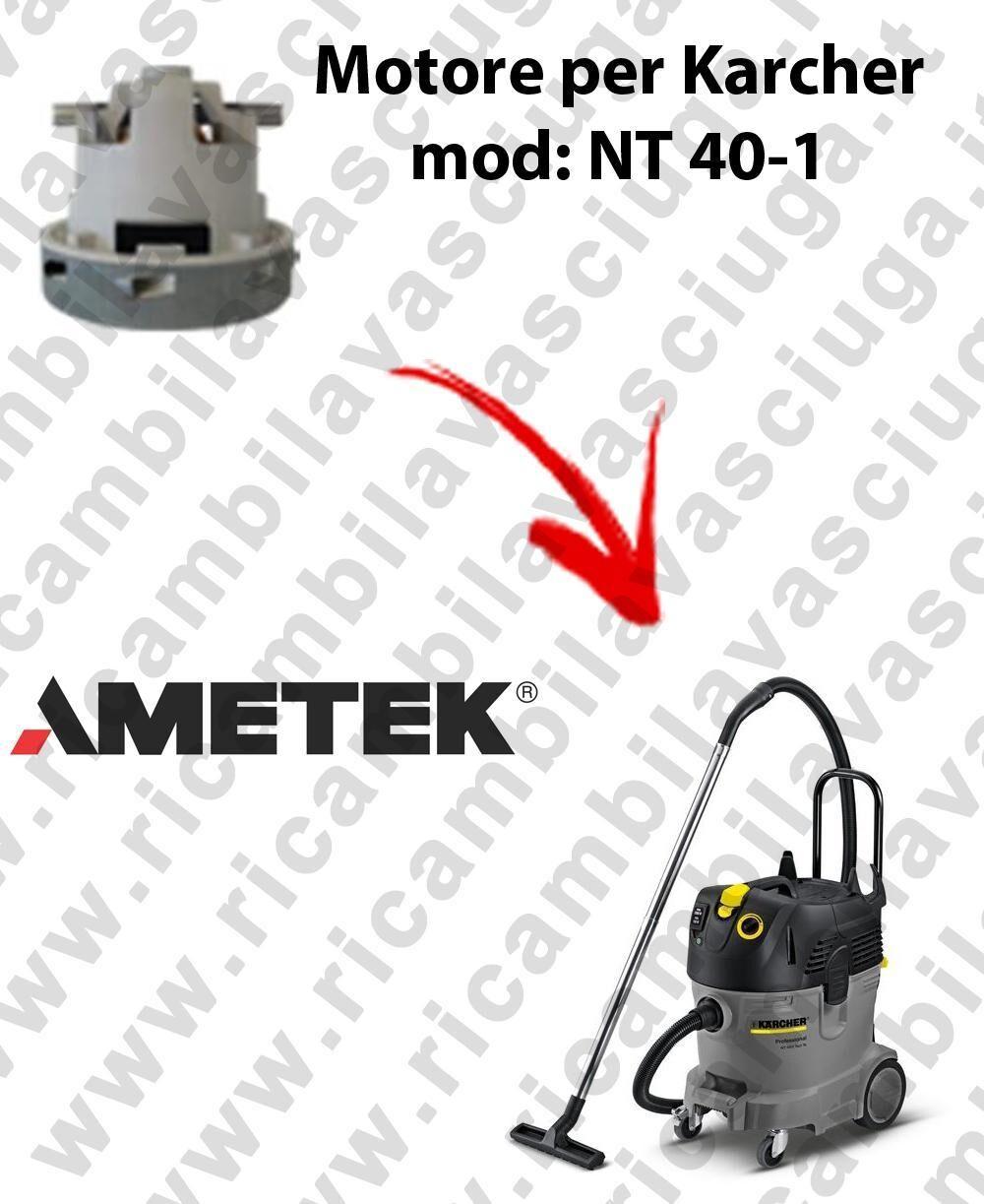 Karcher NT 40-1 MOTORE aspirazione AMETEK per aspirapolvere