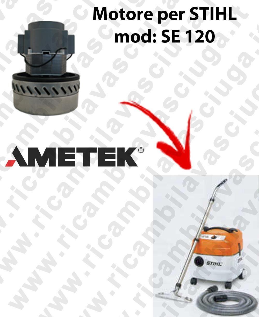 Stihl Motore aspirazione AMETEK per aspirapolvere SE 120