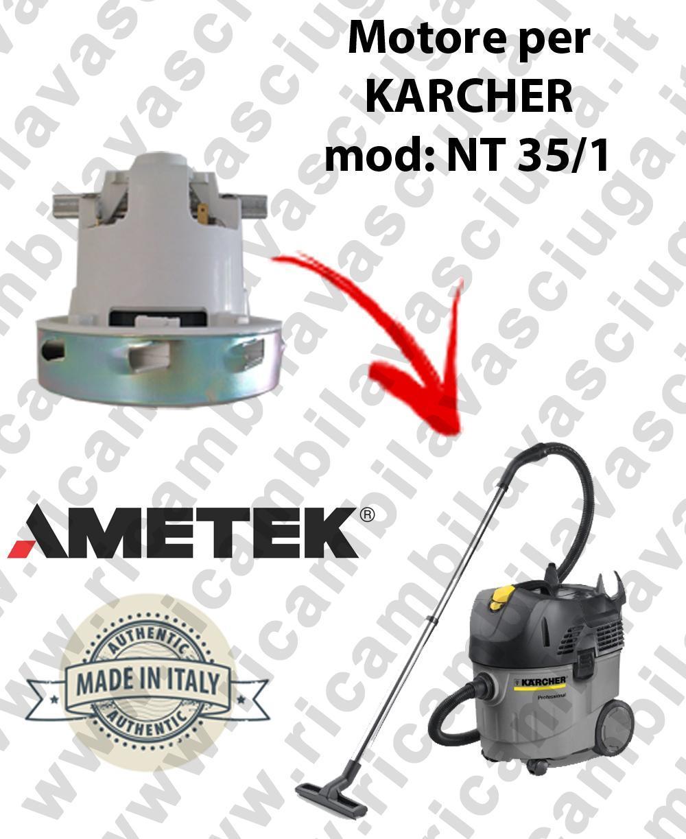 Karcher NT 35/1 MOTORE ASPIRAZIONE AMETEK per aspirapolvere