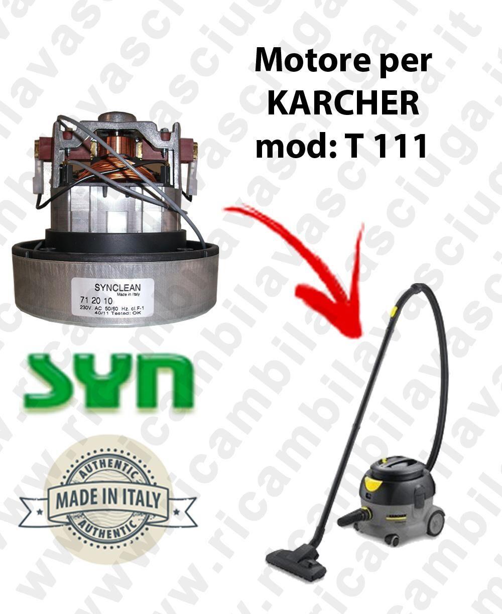 Karcher T 111 MOTORE ASPIRAZIONE SYNCLEAN per aspirapolvere
